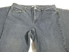 "Womens Ann Taylor Loft Size 14 Boot Leg Boot cut Jean Inseam 31"""