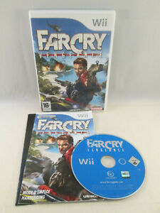 Nintendo Wii - Far Cry Vengeance Farcry