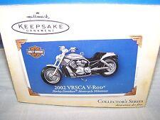 2002 DieCast VRSCA V-ROD Harley Davidson Hallmark Keepsake Ornament 2004