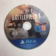 (NE6) BATTLEFIELD 1 FOR SONY PLAYSTATION 4 PS4 (DISC ONLY NO BOX)