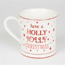 Christmas Mug, Have a Holly Jolly Christmas, Boxed Gift, Sass and Belle Mug