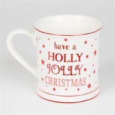 TAZZA di Natale, hanno una Holly Jolly Natale, in Scatola Regalo, Sass and Belle Tazza
