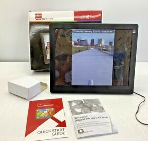 Pix Star FotoConnect XD Wi-Fi - 15 inch Web enabled Digital Picture Frame