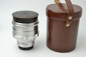 NEW! Biotar 1.5/75 Very Rare lens Exakta Carl Zeiss Jena  S/N 6089093