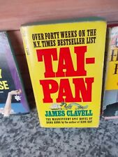 Tai-Pan, by James Clavell, a dell books book