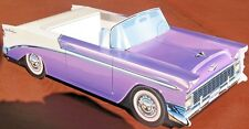 6 ~ Classic Chevy Cardboard Cars Kids Food Tray Box Table Center  Party Favor
