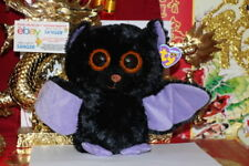 "TY BEANIE BOOS SWOOPS THE BAT.MEDIUM BUDDY-9""-2011.PURPLE TAGS.MWNMT-NICE GIFT"