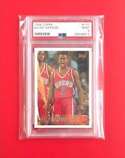 Allen Iverson 1996-97 Topps Rookie Card RC #171 PSA 9