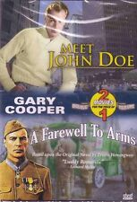 Meet John Doe A Farewell To Arms 2 Movie Set DVD Gary Cooper New