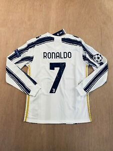 Cristiano Ronaldo #7 home long sleeve soccer jersey 20/21 (ALL SIZES AVAILABLE)