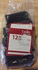 Belle Brand Medium Foam Hair Rollers For Curls 12 Pack