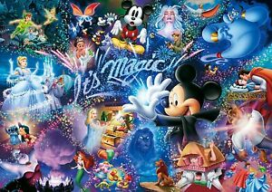 New Disney Jigsaw Puzzle 1000 Small pieces DW-1000-414 Mickey Its Magic JP