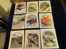 Vintage Garden Railways magazine 9pc Lot 1990 1991 1992 1993 2003   Ag
