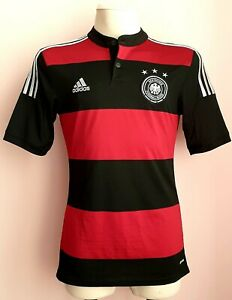 Germany 2014 - 2015 Away football Adidas shirt size S
