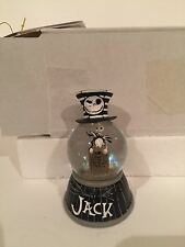 Disney Parks Paris Nightmare Before Christmas Jack Mini Snow globe New with Box