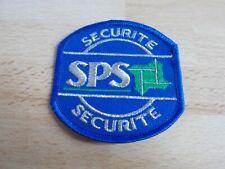 Ecusson, patch SECURITE SPS