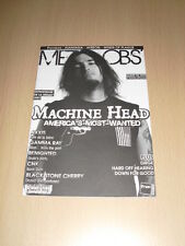 METAL OBS' N°14 Décembre 2007 Machine Head Axxis Gamma Ray Benighted CNK