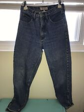 Vintage 80s Guess Jeans Georges Marciano High Waist Tapered Ankle Zip Size 30