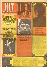 HITWEEK 1967 24 Jacques Senf BOB DYLAN Hans van Eyck Q 65 Jefferson Airplane
