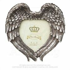 ALCHEMY ENGLAND Gothic Steampunk Wall/Table Picture PHOTO FRAME SA7 Winged Heart