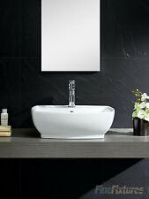 Fine Fixtures 22X16 Bathroom Vessel Sink-Vitreous China-MV2216W