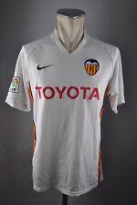 Valencia C.F MAGLIA 2006-07 HOME TAGLIA M TOYOTA Jersey/Maglia Nike Maglietta