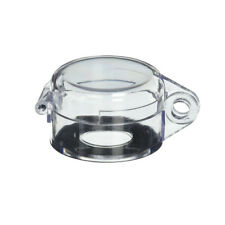 Clear 22mm Round Push Button Switch Protective Cover Guard Case BSG