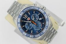 NEW Tag Heuer CAZ1014.BA0842 Formula One F1 Watch Mens Chronograph Blue Orange