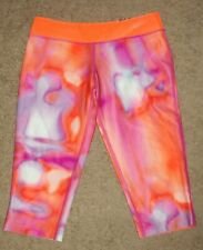 NWT New Girls Medium M Nike Stretch Tight Capri Running Yoga Sweatpants Pants