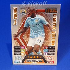Match Attax Extra 13-14: TOURE * BRONZE * Limited Edition. RARE. Man City. 2014