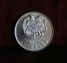 Armenia 1994 World Coin Unc 10 Dram KM58 Eagle Lion Mount Ararat Noah's Ark