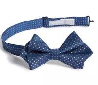 Nordstrom Boy/'s Yellow Buffalo Plaid Silk Tie 3778 One Size