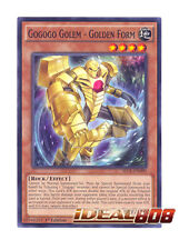 YUGIOH x 3 Gogogo Golem - Golden Form - SECE-EN090 - 1st Edition Near Mint