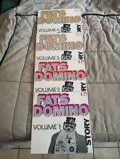 Lot 4 LP 33 Tours Fats Domino Story Vol 1,2,3,4 1971 United Artists Records Fran