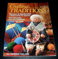 Crafting Traditions Magazine Sept/Oct 1999 ~ Halloween Decor ~ Clay Pot Witch ++