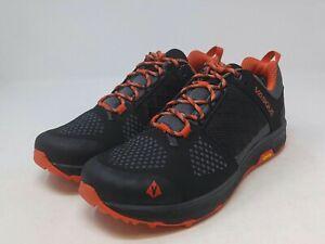 Vasque Men's Black/Orange Hiking Boot 7.5 US