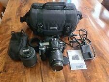 Nikon D D90 12.3MP Digital SLR Camera Kit - 2 Lens  (18-55 & 55-200mm)