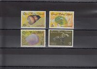TIMBRE STAMP 4 ILES COCOS Y&T# 138641 COQUILLAGE SHELL NEUF**/MNH-MINT 1986 ~A12