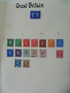 PA 55 - Page Of Mixed Great Britain Stamps