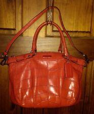 Coach Madison Leather Sophia Satchel Crocodile Embossed F23044 shoulder bag tote