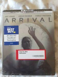 Arrival Steelbook 4K Edition BestBuy Neuf