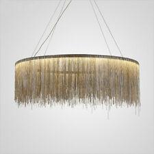Tassel Chain Pendant Lamp Ceiling Lighting Chandelier Long Luxury Aluminum Light
