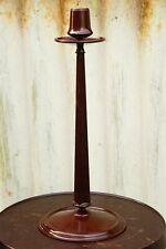 Rare Vintage Bakelite Charles Rennie Mackintosh design Linsden ware candlestick