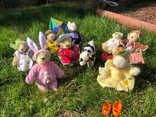 Get Ready for Spring! (8) Assorted Muffy Bears & Bunny's w/ Patti the Cow
