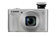 Canon PowerShot SX730 HS Digital Compact Camera: Silver