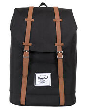 NEW Herschel Supply Co Backpack Retreat 18L Luggage Travel Black Bag
