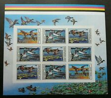 Russia Birds 1990 (imperf color proof with gum) MNH  *rare