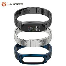 Metal Strap Stainless Steel for Xiaomi Mi Band 5 4 3 Smart Watches Mi 5 Bracelet