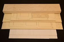Large 1/4.4 Scale FOKKER DR-1 Laser Cut Short Kit & Plans 63 in wingspan