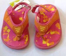 Jumping Jacks Little Splash Pink Leather Water Sandals
